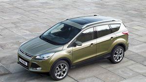 Новое поколение ford kuga проходит дорожные испытания
