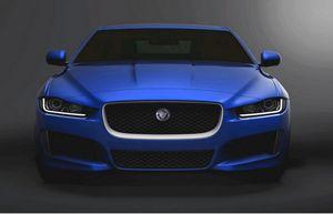 Новый седан xe от jaguar