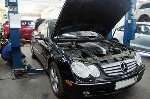 Обслуживание автомобиля mercedes-benz
