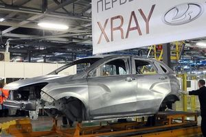 Опубликовано первое фото кузова lada xray