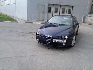 Отзыв об автомобиле alfa romeo 159, двигатель 2,2, «механика», 2008 год.