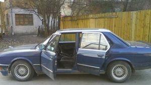 Отзыв об автомобиле bmw 535 e28, 1986 год.