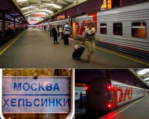 Перевозка автомобилей вместе с их владельцами по железной дороге.