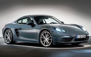 Porsche 718 – «он вернулся» как cayman