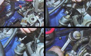 Последовательность замены масла в двигателе ваз 2106