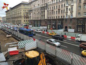 Правительство москвы намерено сузить проезжую часть улиц в историческом центре