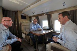 Путин будет летать на работу на вертолете