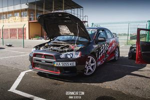 Red line evo x на stage iiiiv rtr time attack