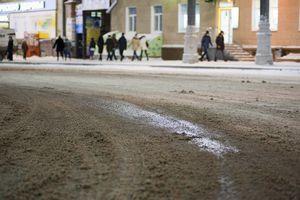 Сахар на зимних дорогах белоруссии