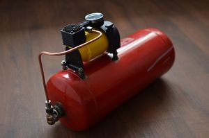 Самодельные компрессоры для покраски авто