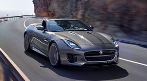 Спортивные новинки f-type coupe и convertible от jaguar