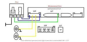 Установка противотуманных фар (инструкция по установке птф)
