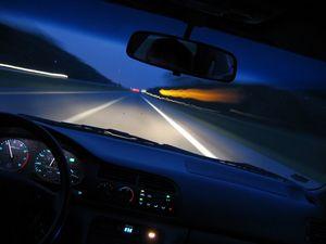 В чем опасность ночной езды на автомобиле?