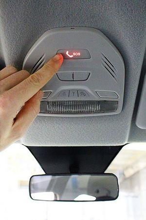 В европе новые машины будут оборудовать «тревожной кнопкой»
