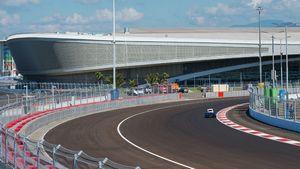 В сочи торжественно открыли автодром для гонок формулы-1
