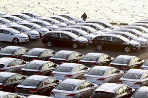 В украине активно растут продажи новых машин