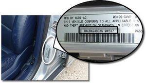 Vin-код автомобиля: расшифровка и поиск запчастей