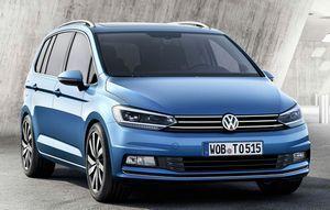 Volkswagen touran 3-поколения