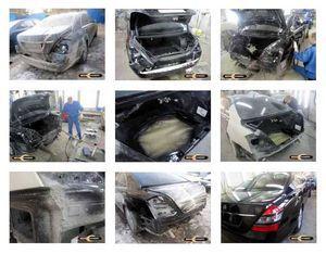 Восстановление автомобиля на кузовной станции