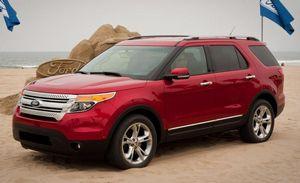 Вседорожник ford explorer 5-го поколения