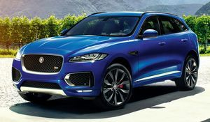 Вседорожник jaguar f-pace