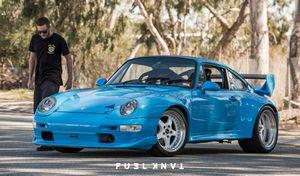 Выбери синюю таблетку: porsche 911 993 rsr replica