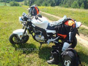 Зимой без мотоцикла